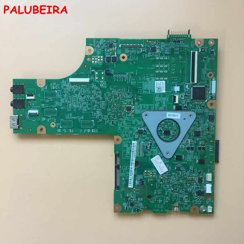 Palubeira CN-0YP9NP 0YP9NP YP9NP Mainboard untuk DELL Inspiron 15R M5010 Motherboard Laptop 48.4HH06.011 554HH01051