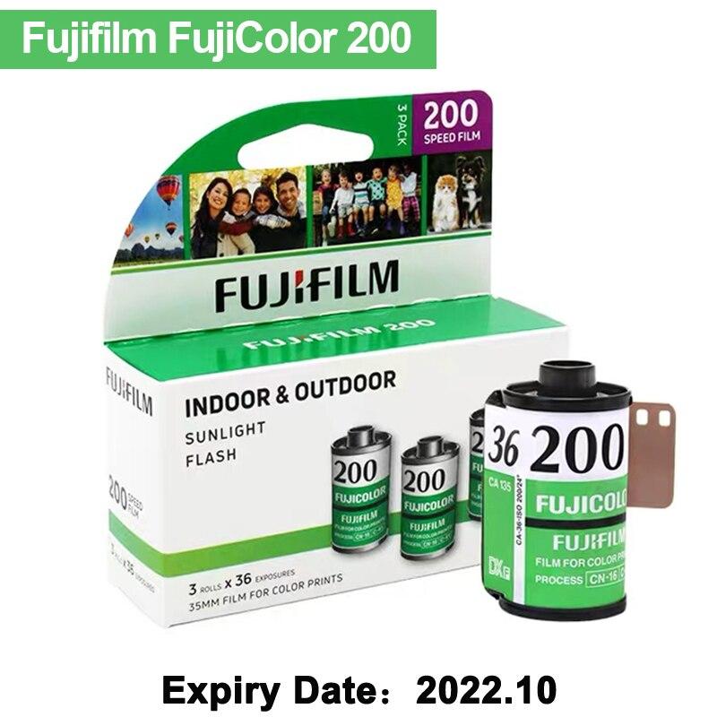 Exposição da película 36 da cor 35mm da fujifilm fujicolor 200 para a câmara lomo holga kodak m35/m38 do formato 135 (data de validade 2022.10)