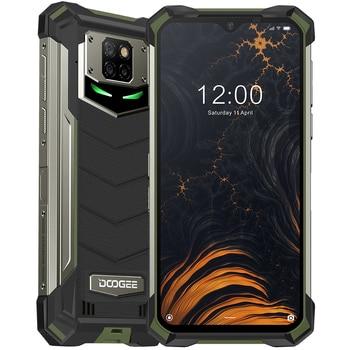 DOOGEE S88 Pro IP68/IP69K Rugged Phone 10000mAh Battery Helio P70 Octa Core 6GB RAM 128GB ROM Android 10 Phone Mobile SmartPhone