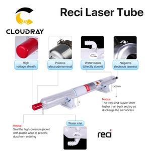 Image 3 - Cloudray Reci W6/T6 130 واط CO2 ليزر أنبوب صندوق خشبي التعبئة ضياء. 80 مللي متر/65 مللي متر ل CO2 الليزر قطع النقش آلة S6 Z6