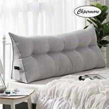 Chpermore almohada larga multifunción de alta calidad de lujo Simple cama cojín suave simplicidad moderna cama almohada para dormir
