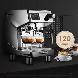 Image 2 - 15bar اسبرسو قهوة تجارية آلة 220V مطعم فندق مقهى باستخدام القهوة صانع LED عرض ماكينة إسبريسو