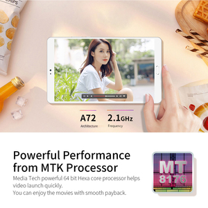 Image 2 - Teclast T8 Tablet Android 8.4 Inch tablets Netbook Fingerprint Recognition PC 2560 x 1600 4GB RAM 64GB ROM MTK8176 13.0MP