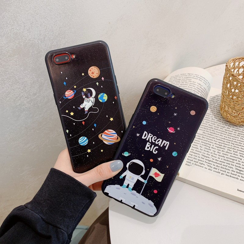 Soft TPU Case For OPPO A31 A31T A33 ONE 7 A35 F1 A37 A51 A53 A57 A39 A59 F1S A71 A77 Cace Cover Silicone Painted Back Cover