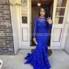 Royal Blue Lace Sequ...