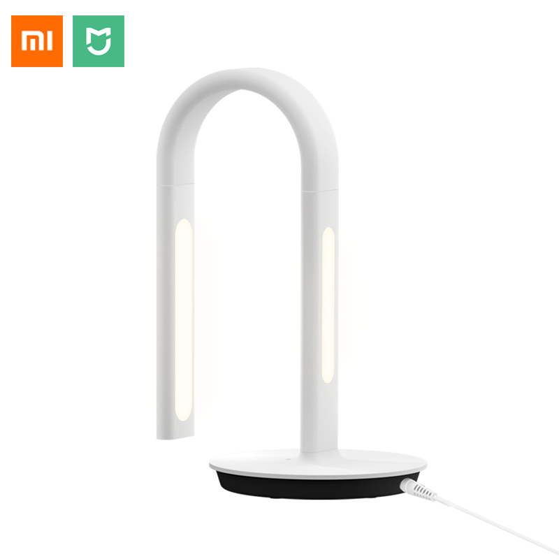 Original Xiaomi Mijia Philips Smart LED Desk Lamp 2th Flexible Lamp Arm Dual Light Source Bedside Night Light Mijia App Control