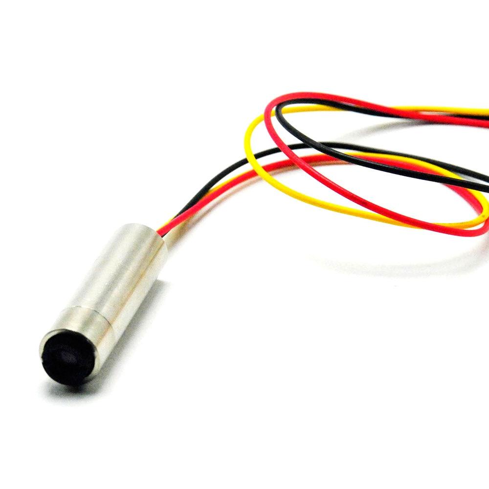 5VDC 980nm 30mW Infrared IR Laser Diode Module Focus Dot Head W/TTL 0-15KHz 12mmx30mm
