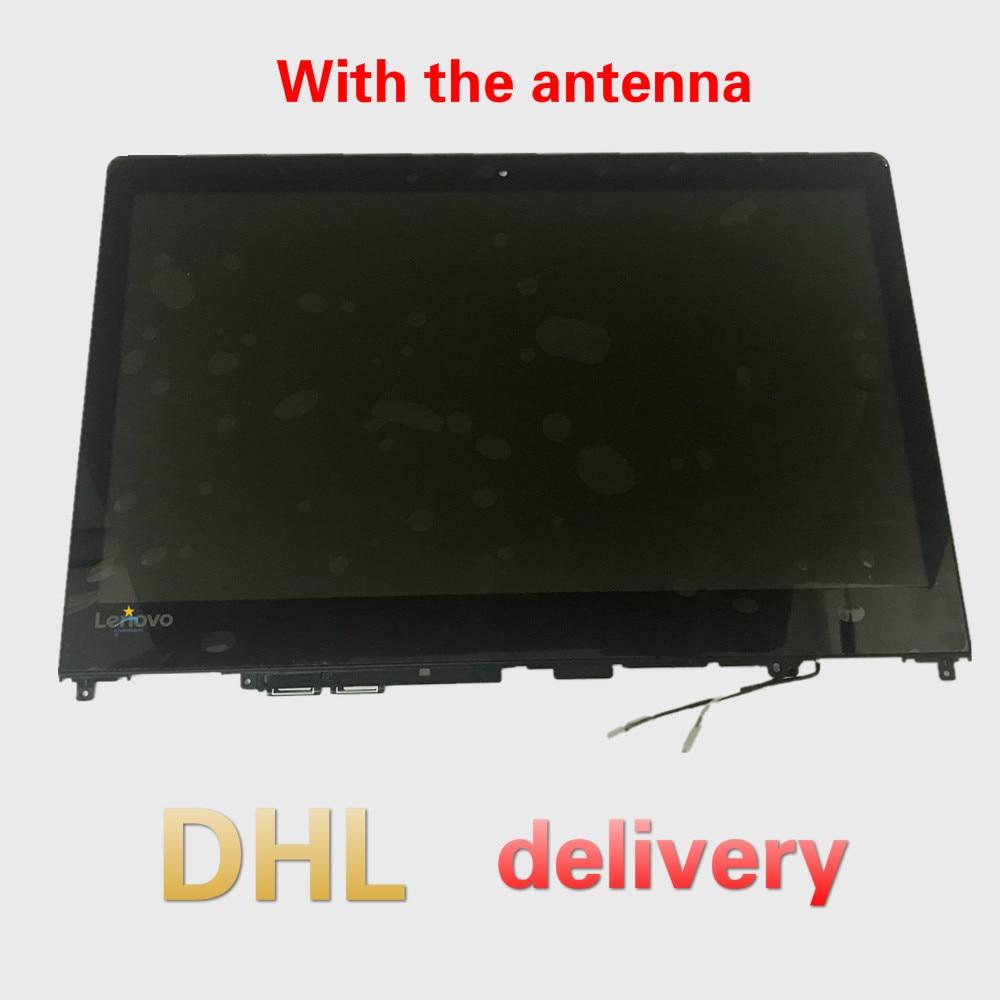 5D10M41756 Original New Full Lenovo Flex4-1480 80VD Yoga510-14ISK 80VB FHD 14.0'' LCD  LED Touch Screen Digitizer Assembly Bezel
