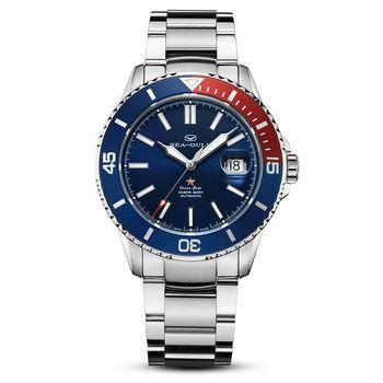 Seagull Watch 2021 Ocean Star Automatic Mechanical300m Waterproof Diving Sport Watch Blue Dial 816.32.1205 7
