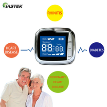 цена на Medical Grade Laser Therapy Watch Diabetes Products Physical Therapy High Blood Pressure Treatment Wrist Watch
