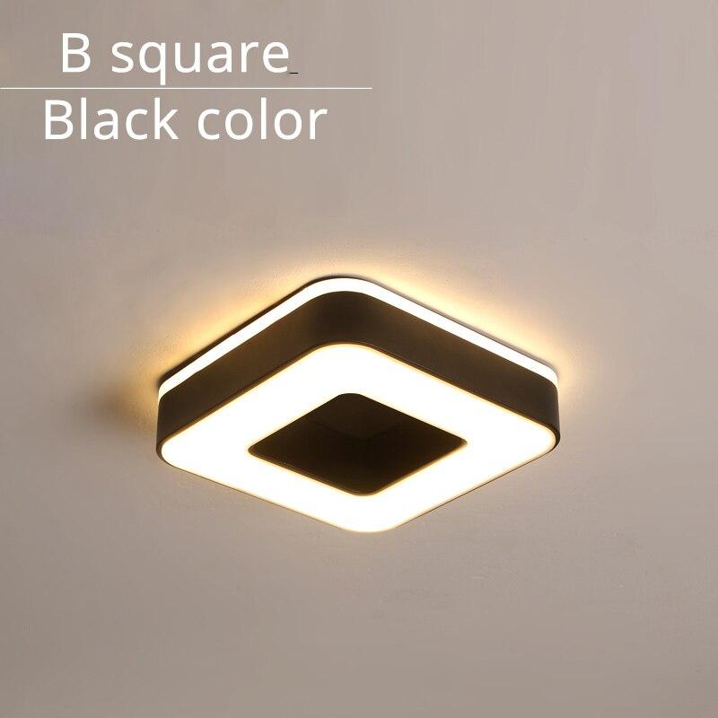 B square black