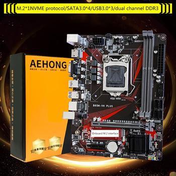 B85M-VH Desktop Computer Motherboard LGA 1150 USB 3.0 16G DDR3 Mainboard Module Upgrade M.2 цена 2017