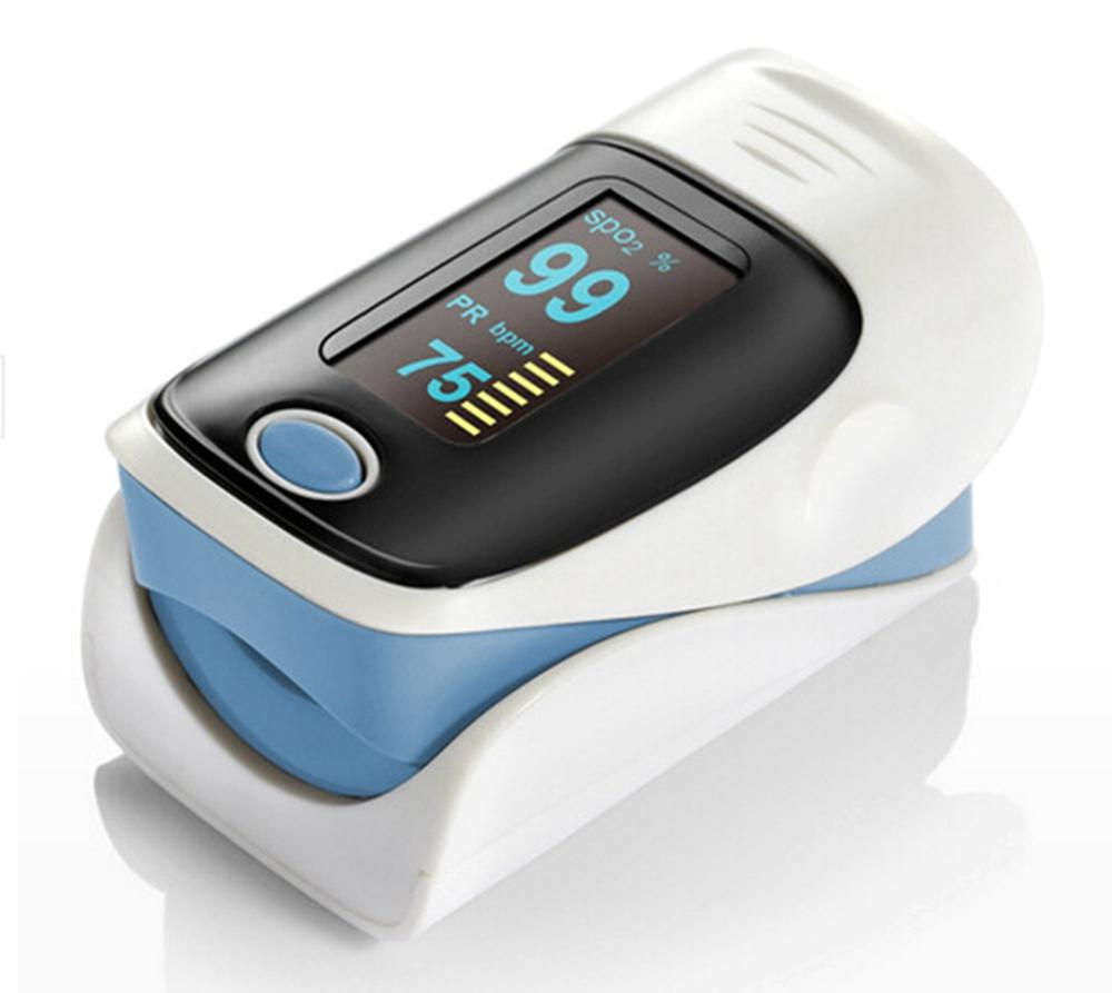 OLED Fingertip Pulse Oximeter De Dedo Pulso Oximetro Portable Finger Pulse Blood Oxygen Monitor Oxymeters Digital Meter Clip