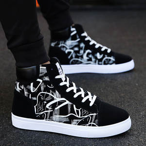 High-Top Sneakers Vulcanized-Shoes Shoes New Quality Men