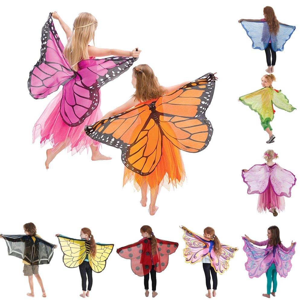 Костюм бабочки, крыльев, божьей коровки, шмеля, косплей, крыла с маской, костюм на Хэллоуин для детей, девочек, мальчиков вечерние вечеринки