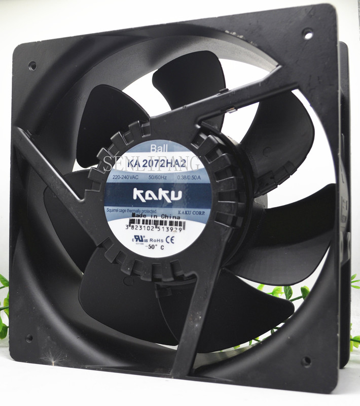 FOR KAKU KA2072HA2 20872 220V 20CM Tolerate High Temperatures Waterproof Cooling Fan