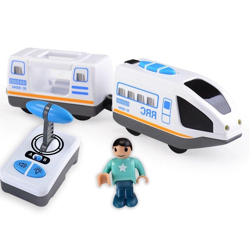 Electric Rc Train toy Car Trains Remote Control Train Toys Blue And White Electric Remote Control Train Toys Car Children Toy