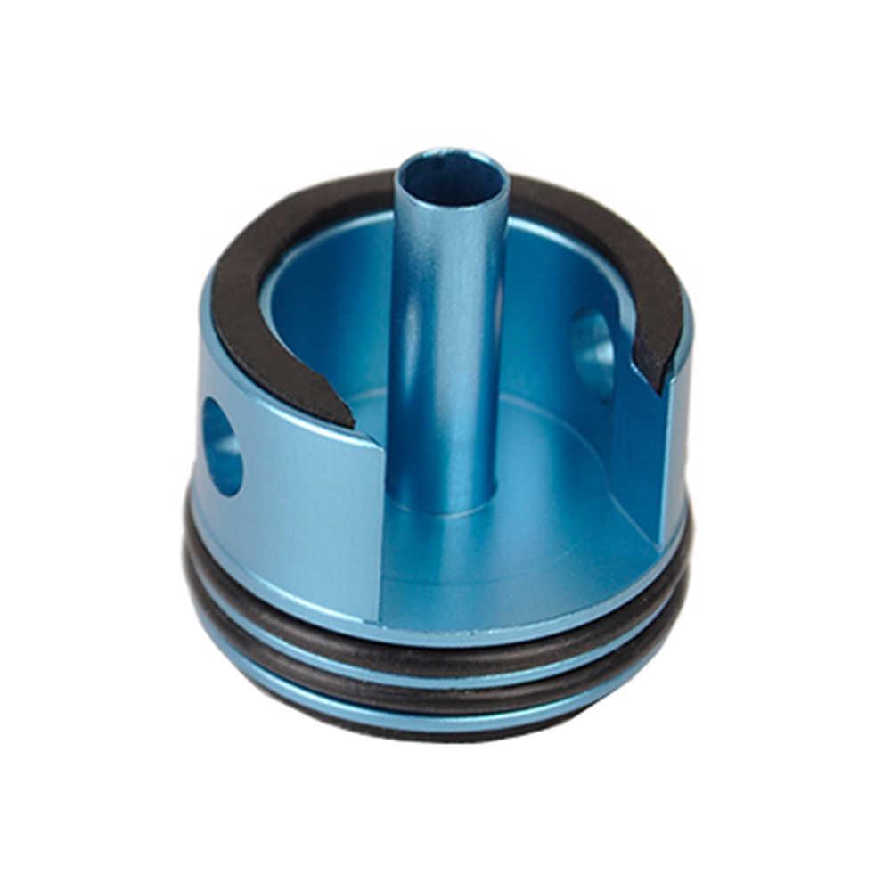 Cabeça de cilindro para airsoft ver.2 ver. 3, caixa de velocidade m4 ak aeg jinming air guns blaster, acessórios de caça de paintball
