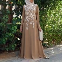 KANCOOLD женское мусульманское платье размера плюс 5xl турецкий кафтан марокканский кафтан хиджаб вечернее платье мусульманская одежда