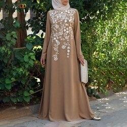 KANCOOLD женщина абайя мусульманское платье размера плюс 5xl турецкий кафтан марокканский кафтан хиджаб вечернее платье Исламская одежда