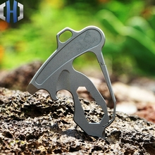 Titanium Alloy Multi-tool Keychain Opener Screwdriver Wrench Outdoor Portable EDC Tools professional recurve bow archery hunting 30 40lbs recurve bow for right handed archery bow shooting hunting game outdoor sports
