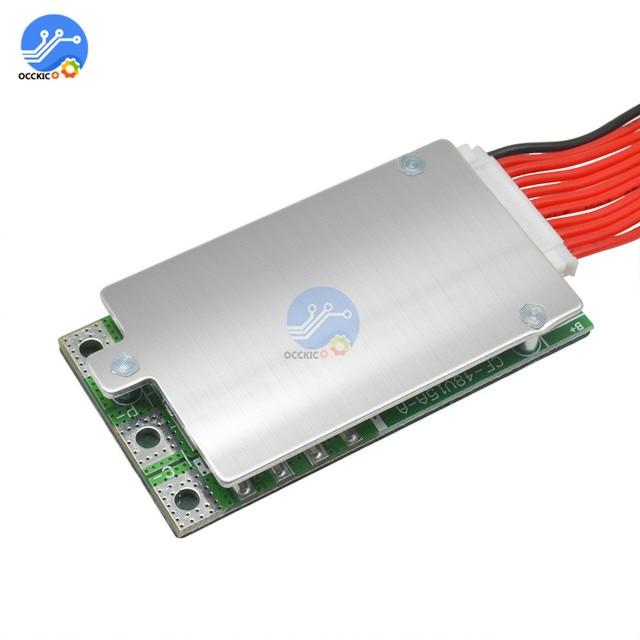 Carte de Protection de puissance de batterie au Lithium-ion 10S 36V 15A BMS carte PCB PCM pour vélo électrique Ebike empêchant la surcharge