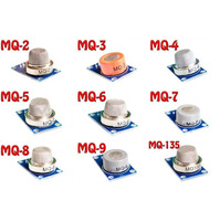 MQ serie kit MQ-2 ~ MQ-135 9 gas sensor module MQ-2/3/4/5/6/7/8/9