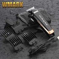 WMARK NG-103 inalámbrica profesional de corte de pelo de 6500-7000 rpm de pelo de corte ajustable palanca 10W de potencia