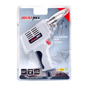 Luo-Tie Soldering-Iron-Kit-Set Industrial-Grade Welding-Gun Electric High-Power 100W