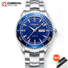 MIYOTA automatic watch men sapphire Luxury brand Carnival Me