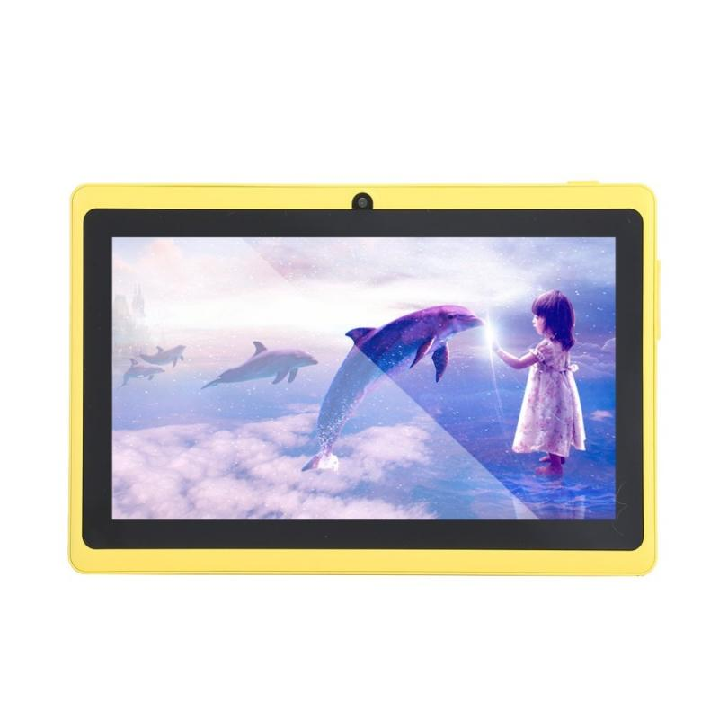 7in Q88 Android 4.4 A33 Quad Core 4GB ROM 512MB RAM WiFi 1.3MP Cam Tablet WW
