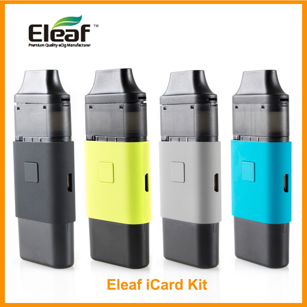 [RU/ES] Kit iCare Eleaf Original 1.8 mL/iCard kit 2ml intégré 650mAh IC tête 1.1ohm VS iCare Mini E-Cigarette