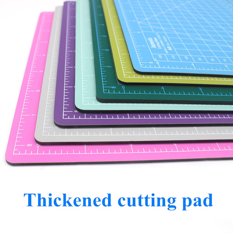 Junesix Cutting Mat A5 Cutting Board Manual Model Cutting Pad Paper Cutting Pad Random Colors