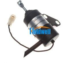 Holdwell الوقود اغلاق الملف اللولبي 16851 60014 ل كوبوتا BX2230D RTV900R RTV900T B7410D BX1500D BX1800D Z482 Z602 D722 D902 12Vdc