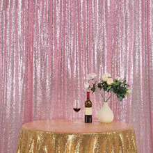 New Background Rectangular Sequins Tablecloth Decorative Cloth Bright Backdrop for Party Table Cloth Weddings DIY Decoration