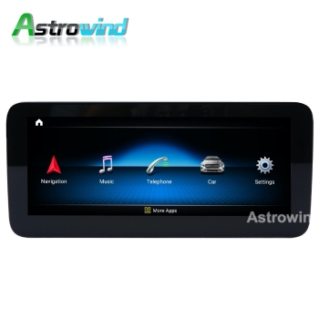 D-1206,10.25 inch 8 Core Android 10.0 System Car GPS Navigation Media Stereo Radio For Mercedes-Benz C W205 GLC X253 V W446
