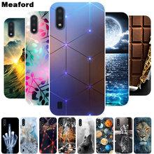 Coque de téléphone en silicone TPU souple, résistant aux chocs, 5.7 pouces, pour Samsung Galaxy M01, M01, M015, M01, 2020