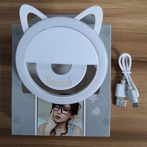 Image 5 - Selfie flash luz luminosa lâmpada telefone anel 36 led para iphone para samsung para xiaomi smartphone recarregável selfie luz
