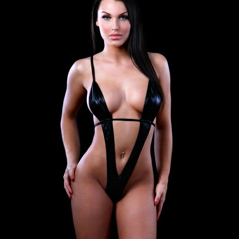 2020 New Hot Women Ladies Sexy Lingerie Swimwear Exotic Micro One Piece Bikini G-string Thong Slingshot Swimsuit