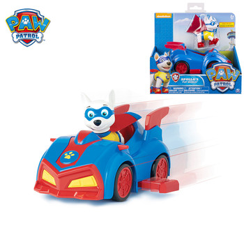 Genuine Paw Patrol Dog Rescue Car Puppy Patrol Action Picture Tracker Apollo Everest Ryder Patrulla Canina toys Birthday Gift paw patrol dog patrol car ryder captain patrulla canina toys vehicle car kids birthday toy gift 1pcs genuine