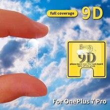 9D защита для экрана камеры для Oneplus 6 7T 7TPro объектив Защитное стекло для экрана протектор для 1+ 5/5T 3/3t 6T аксессуары для камеры