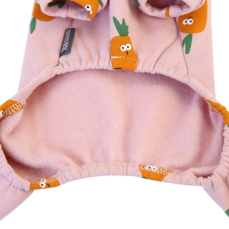 Мягкая теплая одежда для собак флисовая куртка пижама питомцев