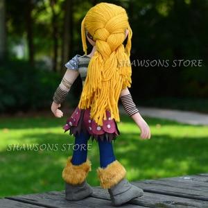 Image 5 - Personagem de pelúcia do dragão, brinquedos de 15 polegadas, adesivo astrid, boneco macio poseable
