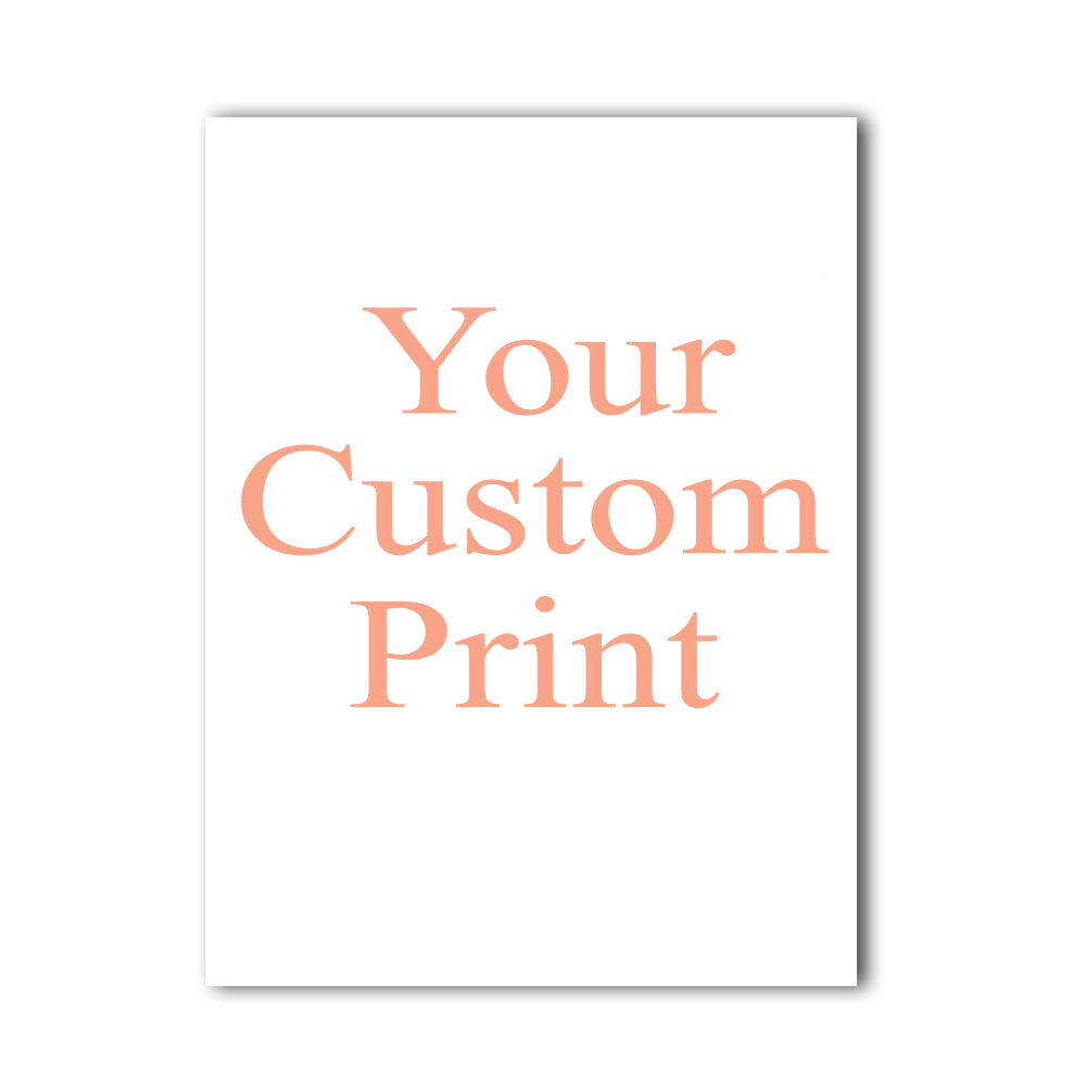 Toile personnalisée peinture affiche votre photo toute taille impression toile mur Art photo