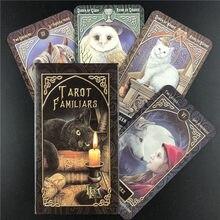 Baralho de tarô para famílias, cartas para adivinhação, jogos de mesa, jogos de cartas, festa na família, entretenimento