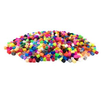 Fuse Beads 1000 Pack Hama Beads 5mm Midi Work Like Hama Bead Mixed Iron Kids Arts & Crafts Educational Toys