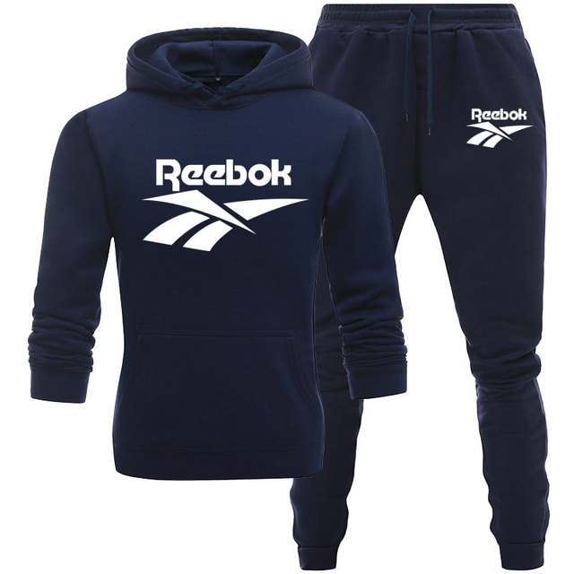 Men Winter 2020 NewTracksuit Male Hoodie And Pants Two Piece Fitness Pullover Sweatshirt Set Casual Sportswear Running Suit