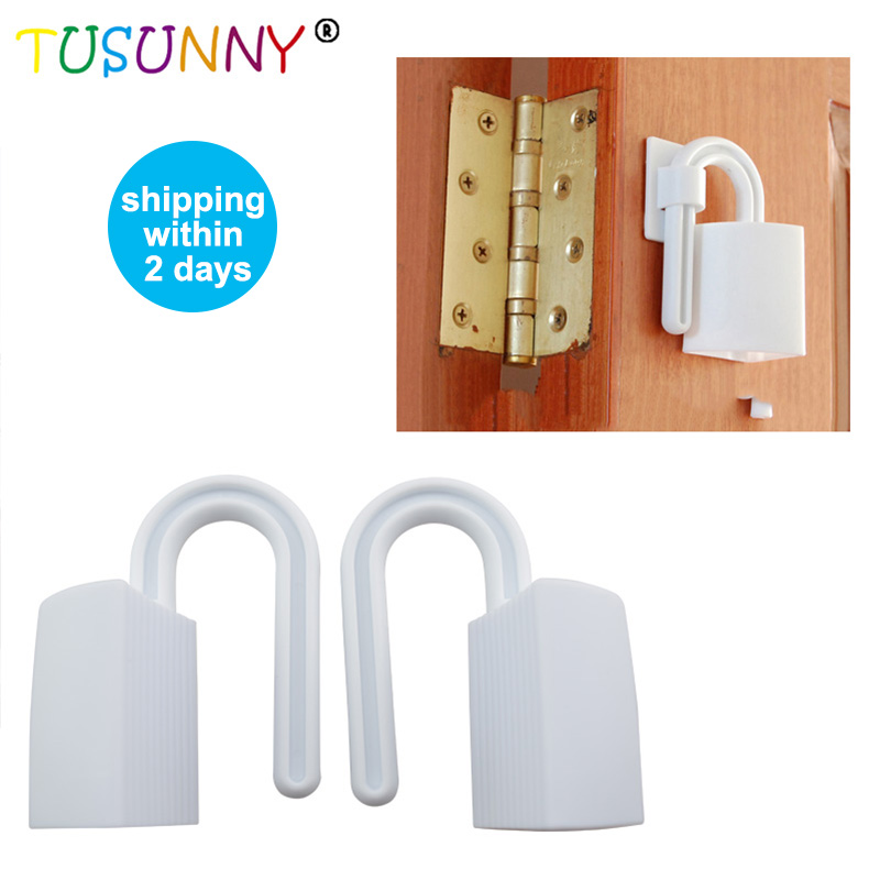 TUSUNNY 2 Pcs/lot Baby Safety Finger Pinch Guard  Baby Safety Gate Stopper Children Care Safe Door Child Kids Protection Lock