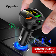 Dual USB Car Charger Quick Charge 3.0 FM Transmitter Bluetoo