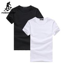 بايونير كامب 2 حزمة تعزيز التي شيرت الرجال العلامة التجارية ملابس قصيرة الأكمام الصلبة تي شيرت الذكور عادية التي شيرت أزياء رجالي